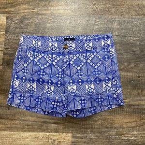 American Eagle Outfitters Midi Geometrical Shorts